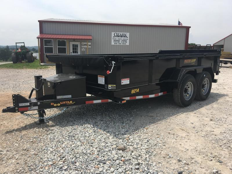 2019 Doolittle Trailer Mfg 7x14 14K Dump Trailer