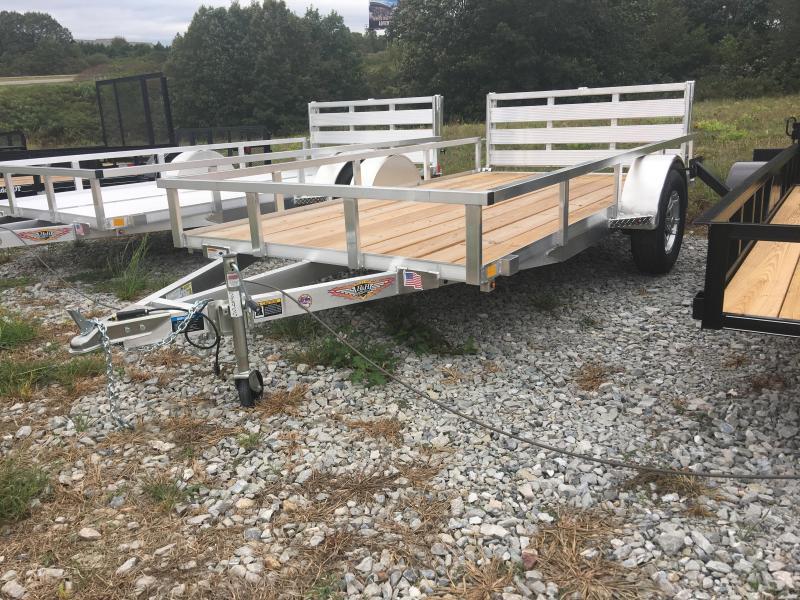 2020 H and H Trailer 76x12 Bi-Fold Gate Utility Trailer