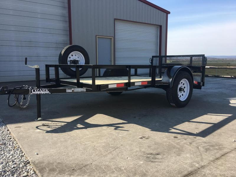 Ozark 3500 Series 5 x 10 Preferred Package Utility Trailer