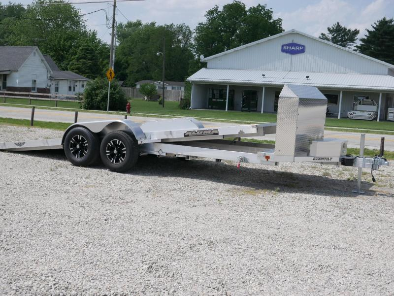 2020 Aluma 8220H Tilt Car / Racing Trailer in Ashburn, VA