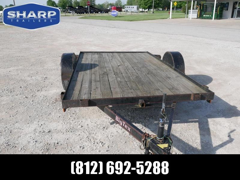 2000 Big Tex Trailers 80X12 Utility Trailer in Ashburn, VA
