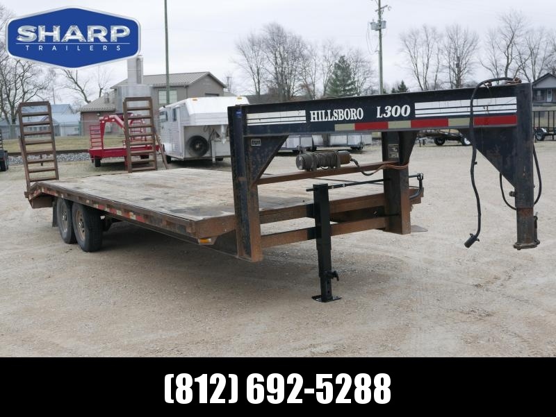 2001 Hillsboro Industries Flatbed Flatbed Trailer