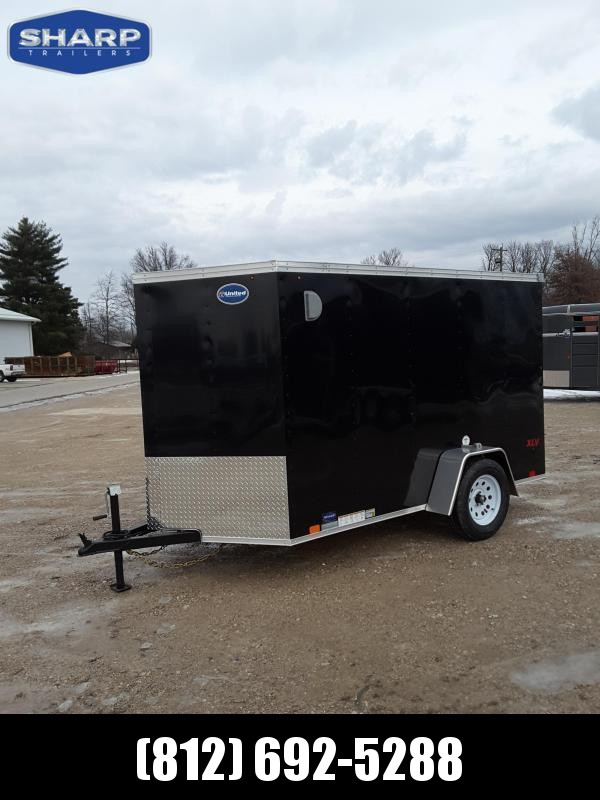 2020 United Trailers XLV 6X12SA30-S Enclosed Cargo Trailer