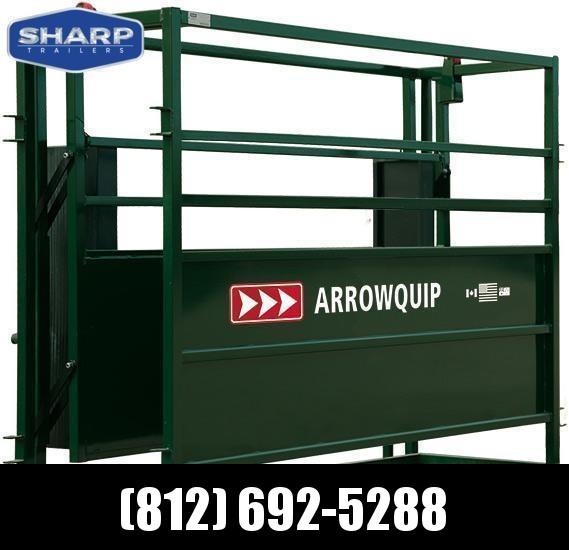 2017 Arrowquip 8' Adjustable Alley Farm / Ranch