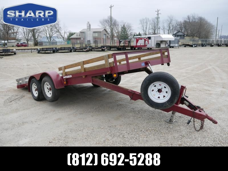 2001 Other HHT 18 Utility Trailer