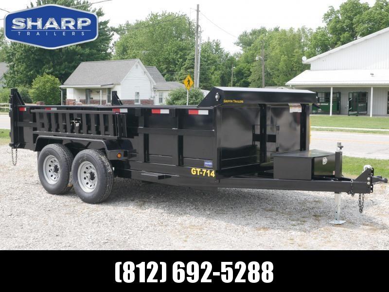 2019 Griffin LMD8314TA70 Dump Trailer in Ashburn, VA