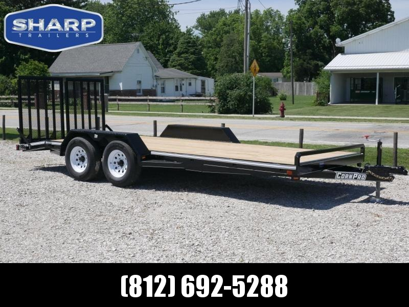 2019 CornPro Trailers UT 20 CS Utility Trailer