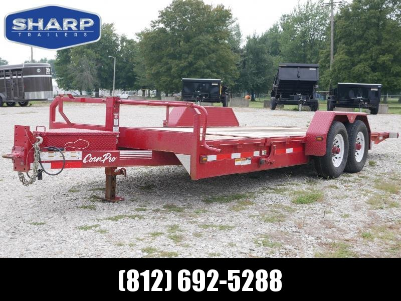 2016 CornPro Trailers UT-21 HT Equipment Trailer