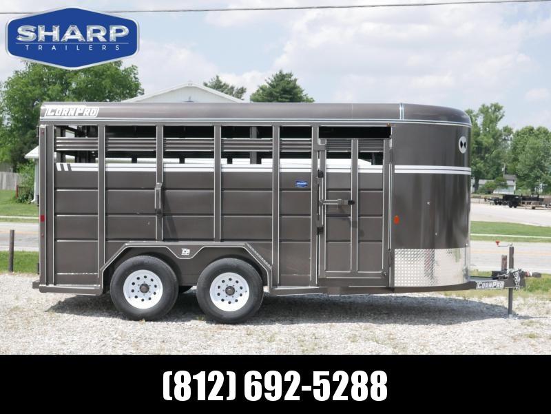 2019 CornPro Trailers SB 16 6S Livestock Trailer in Ashburn, VA