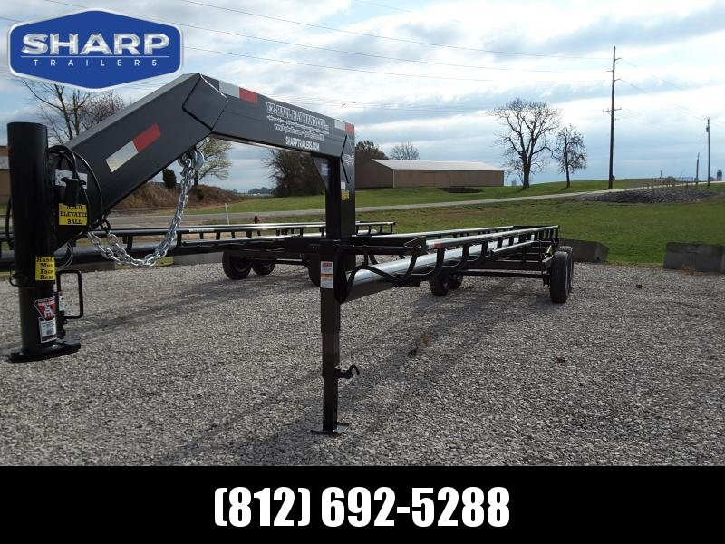 2019  T&B Welding GN 36' 7 Bale Utility Trailer in Ashburn, VA