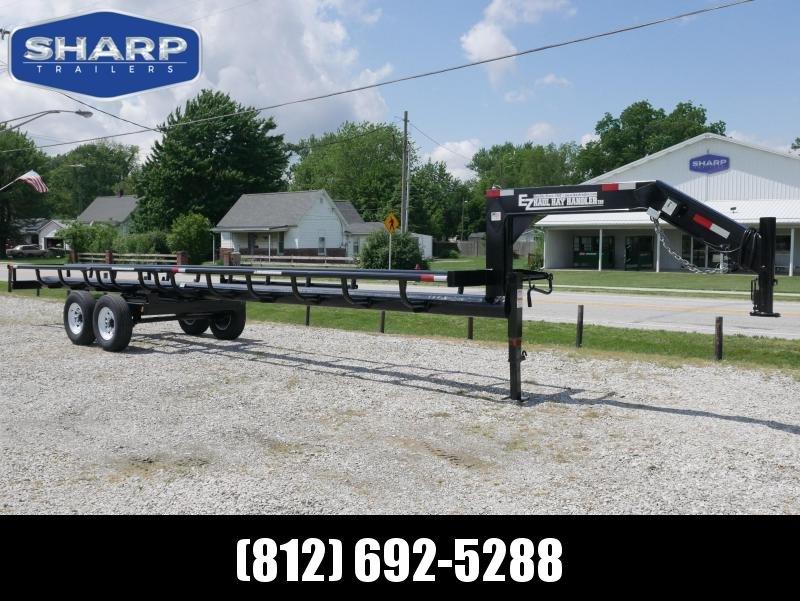 2019  T&B Welding GN 36' 7 Bale Utility Trailer in Ashburn, VA