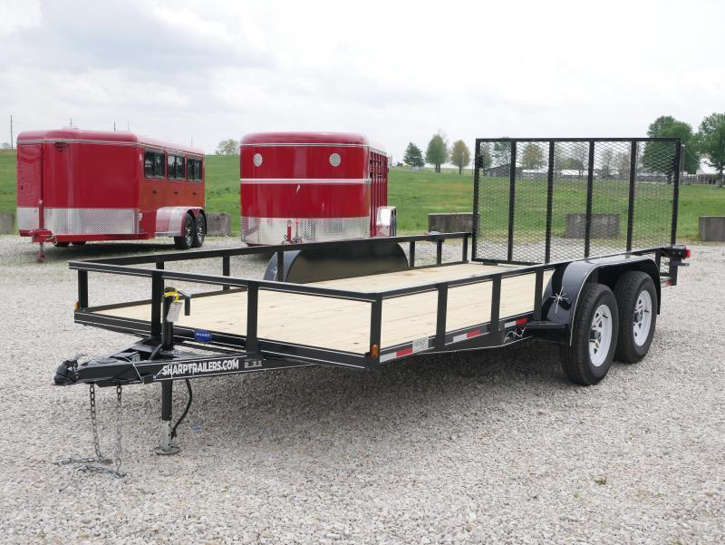 2019 Wesco UT 16 Utility Trailer