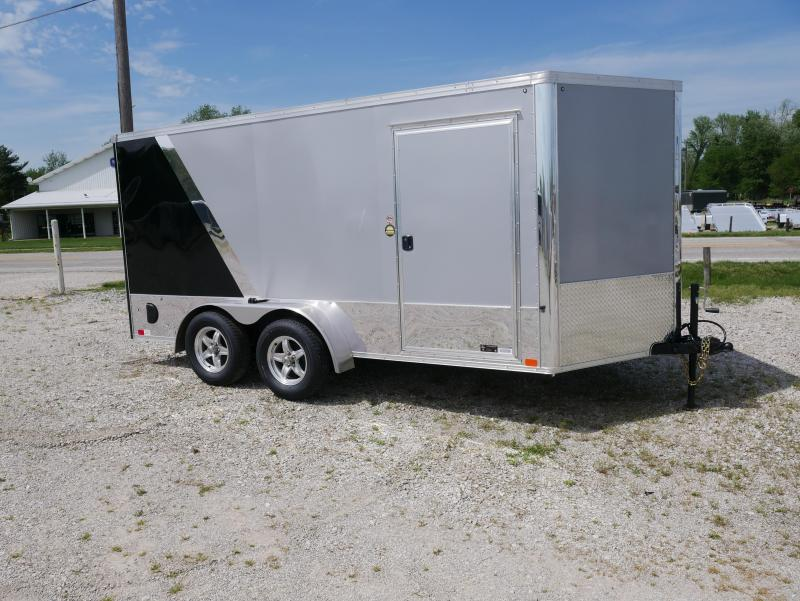 2019 United Trailers XLMTV 7X14TA35 Motorcycle Trailer