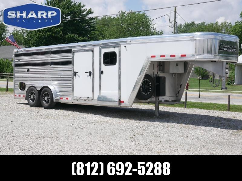 2014 Cimarron Trailers SS2SG211706260E Livestock Trailer in Ashburn, VA