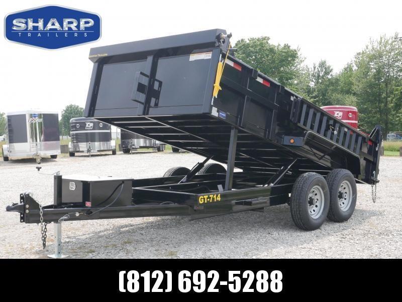 2019 Griffin LMD8314TA70 Dump Trailer