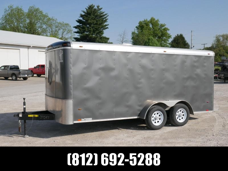2018 Atlas Specialty Trailers AU7x16 Enclosed Cargo Trailer
