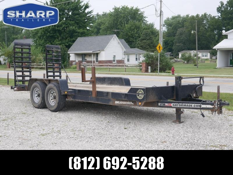 2014 Gatormade Trailers 20' Equipment Trailer