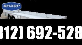 2020 Aluma 8116TA BT Utility Trailer