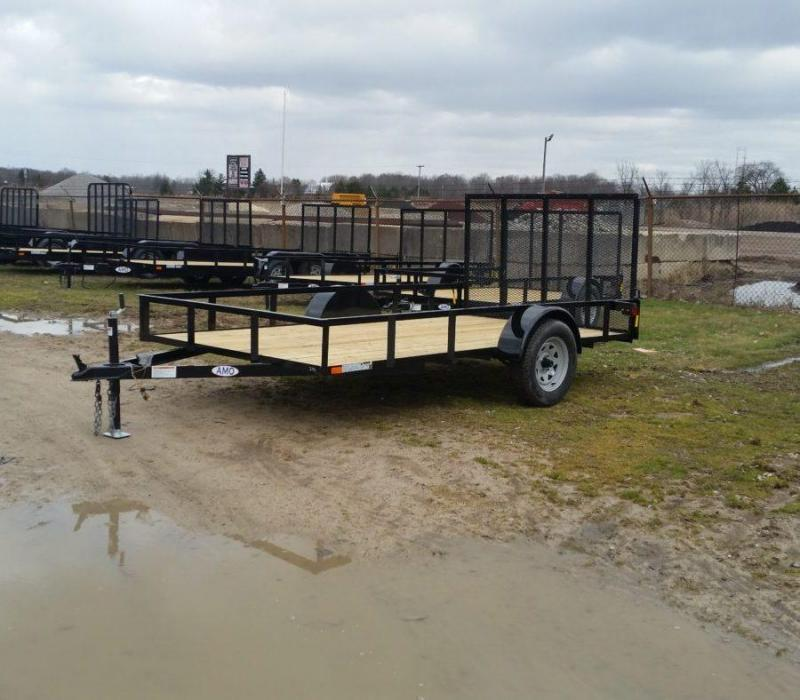 6.5 x 12 A.M.O. Low Side Landscape Trailer