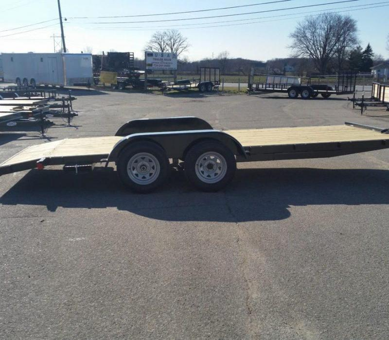 16' A.M.O. Car Hauler Trailer TA2