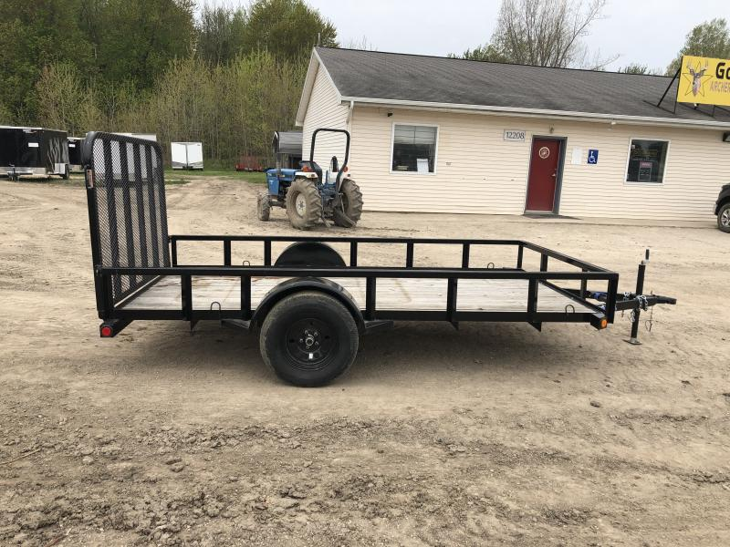 Load Trail SE Black 77x12 Utility Trailer