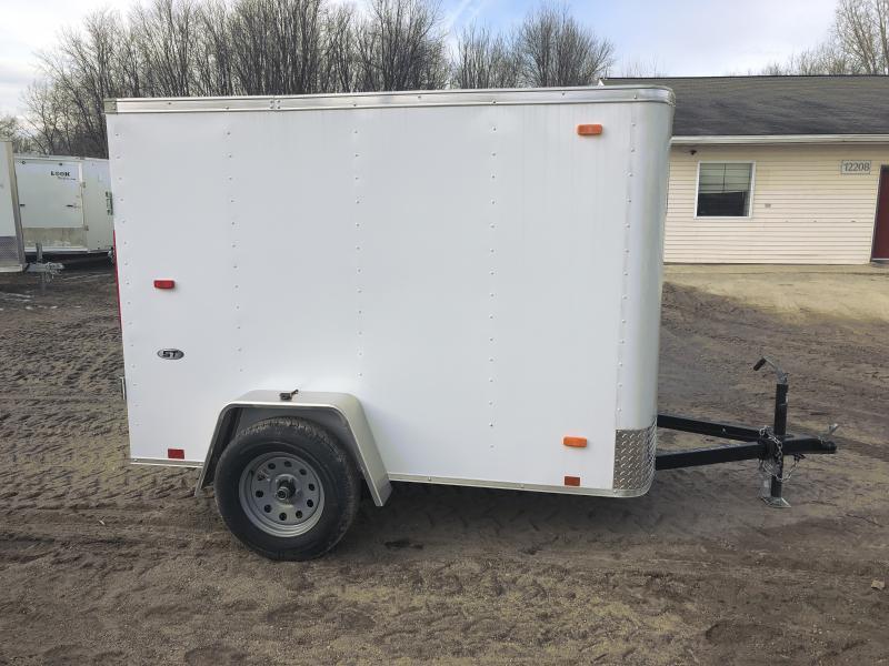 Look Trailers 5X8 Barn Door Enclosed Cargo Trailer