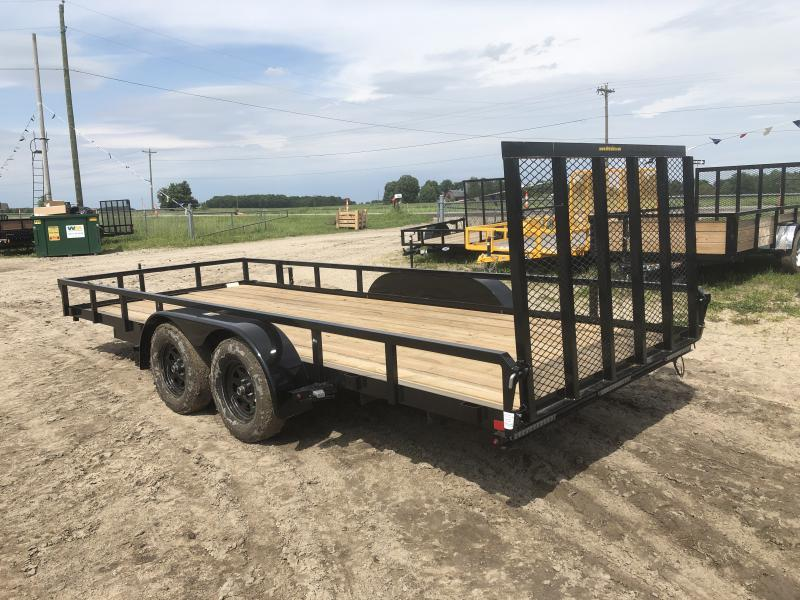 H and H Trailer 82x18 Utility Trailer