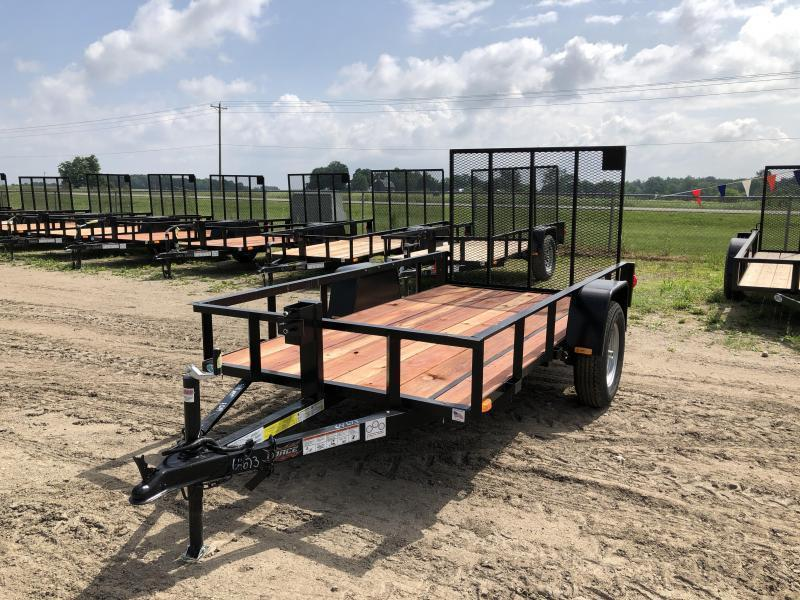 Force 5x10 Deluxe Utility Trailer