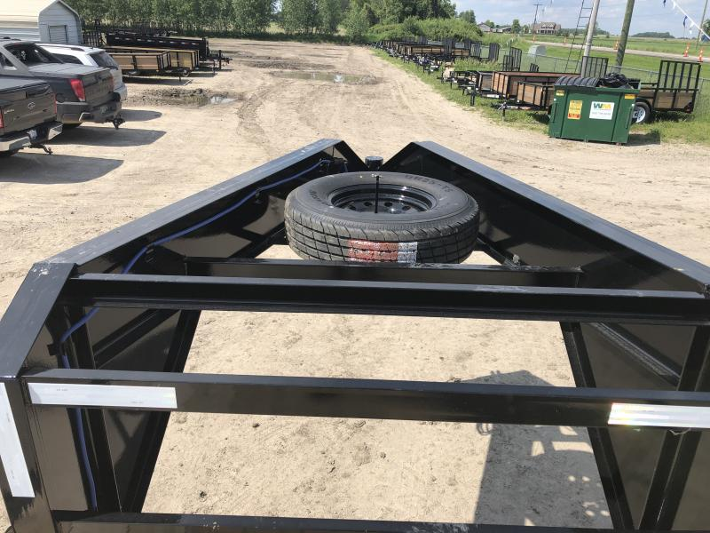 Load Trail 25' Deckover 14K Gooseneck Equipment Trailer