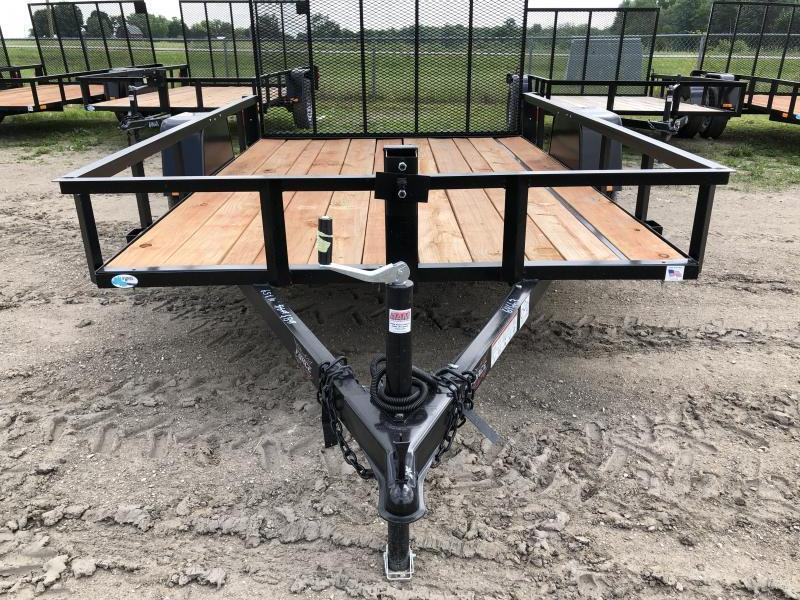 Force 6.5x10 Deluxe Utility Trailer