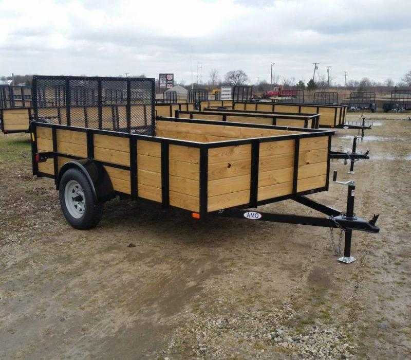 6.5 x 10 A.M.O. High Side Landscape Trailer