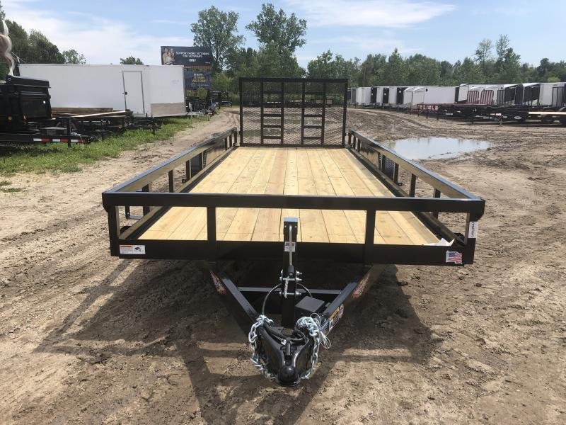 New 20' Heavy Duty Landscape Trailer By H&H