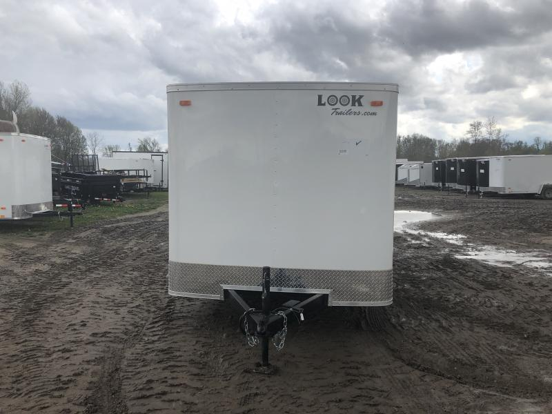Look Trailers 7x16 Ramp Door Enclosed Cargo Trailer