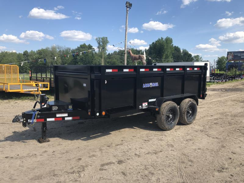 Load Trail 83x14 14K  Dump Trailer W/36in Sides