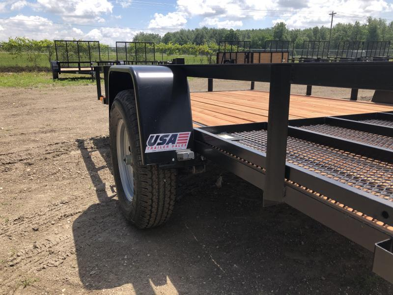 2019 Forest River Inc. Force 6.5x12 Deluxe Utility Trailer