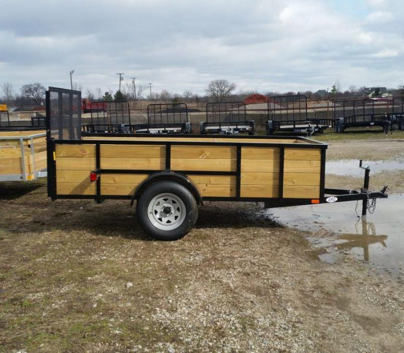 5 x 10 A.M.O. High Side Landscape Trailer