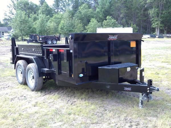 Force Dump Trailer 14ft 14000GVW