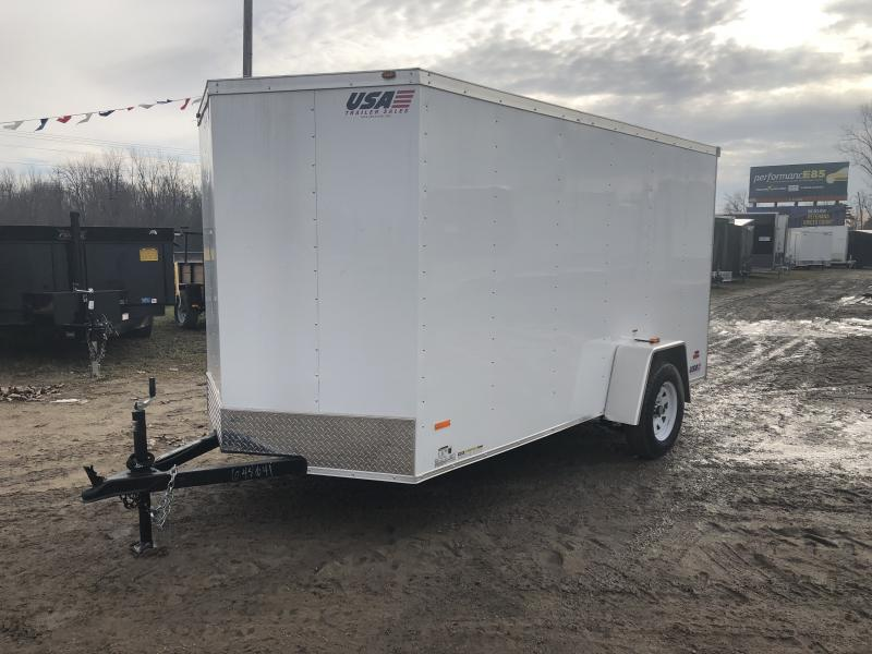 MTI Trailers USA 6X12 V-Nose Ramp Door Enclosed Cargo Trailer