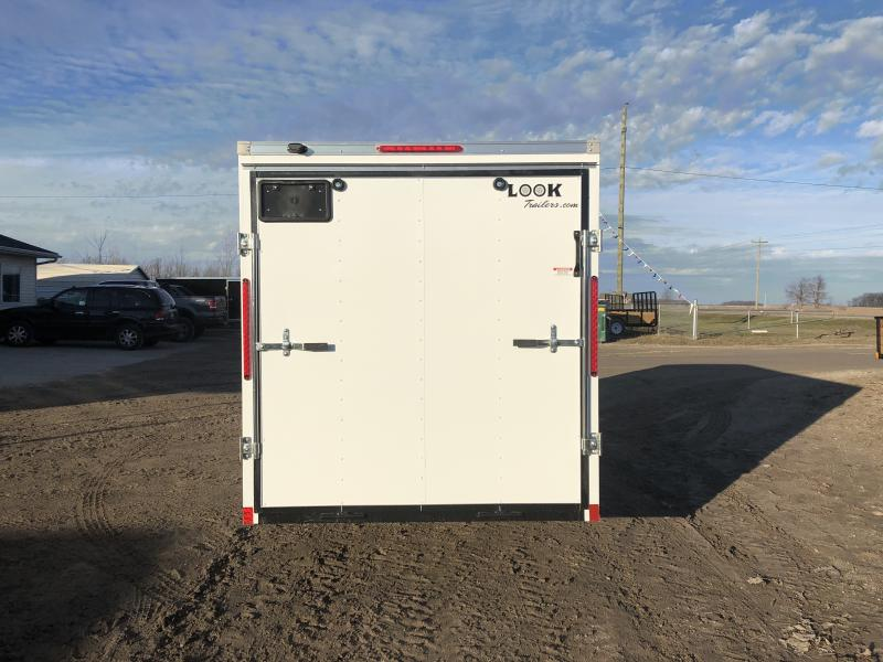 Look Trailers 6x14 Ramp Door Enclosed Cargo Trailer