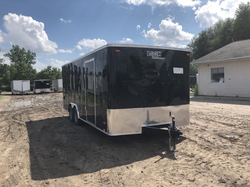 Look Trailers 8.5X18 7K Car / Racing Trailer Black