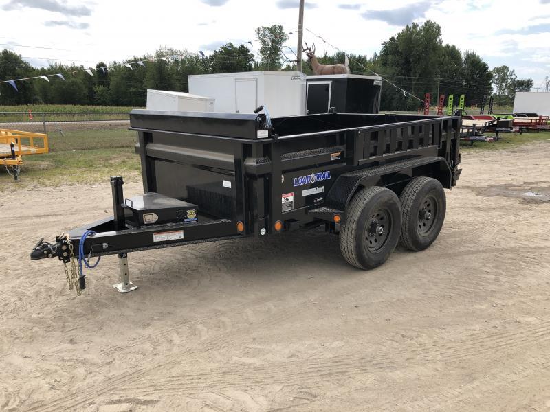 Load Trail 6x10 10K Dump Trailer Max Pkg w/Solar Charger