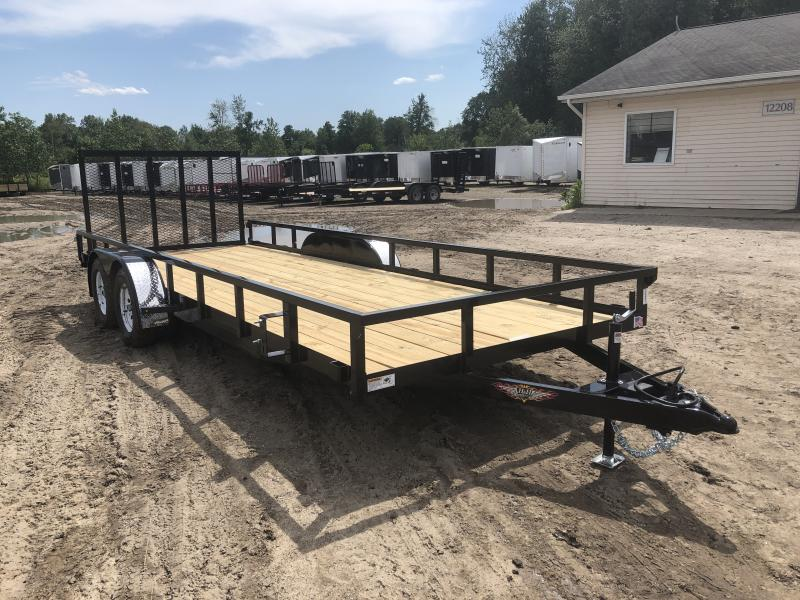H and H Trailer 82x20 Utility Trailer