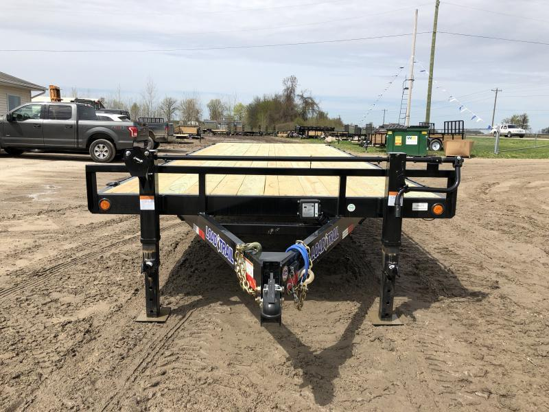 Load Trail DK14 Deck Over 14000 Lb w/6″ Channel Equipment Trailer