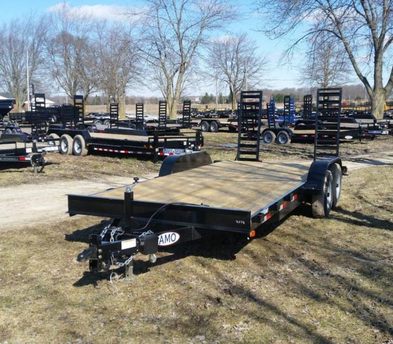 82 x 18 A.M.O. Equipment Trailer TA4