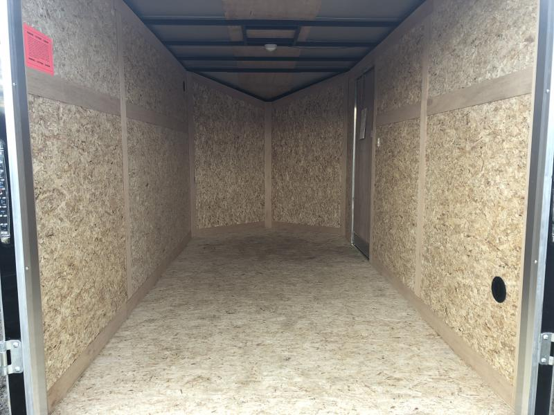 Stealth Trailers 6x12 V-Nose Ramp Door Enclosed Cargo Trailer