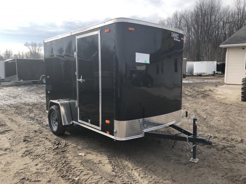 Look Trailers 6X10 Ramp Door Enclosed Cargo Trailer