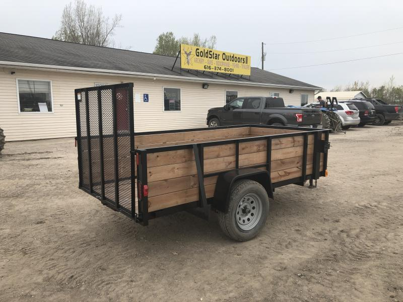 Force 5x10 Deluxe Woodside Utility Trailer