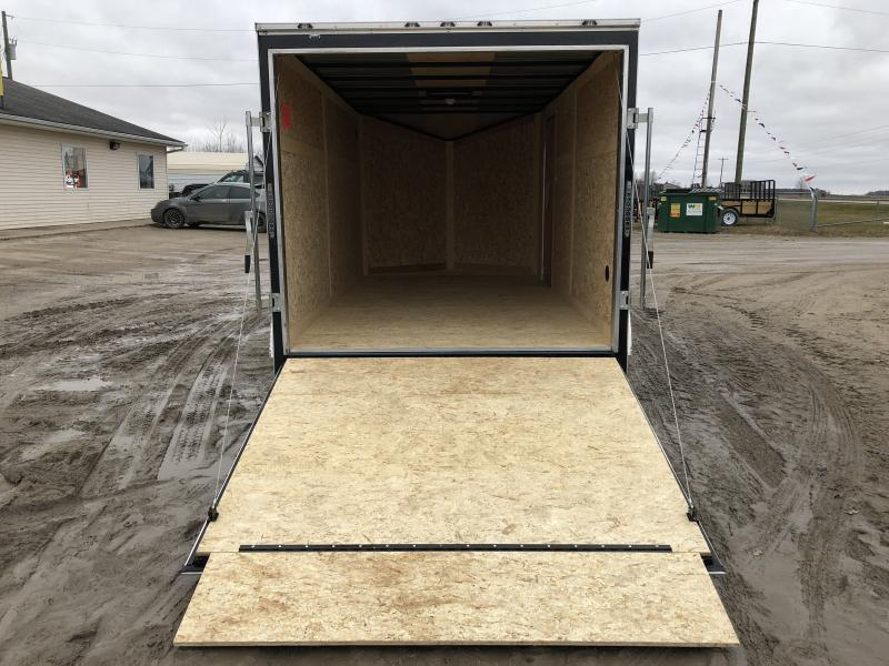 Stealth Trailers 7X14 V-Nose Ramp Door Enclosed Cargo Trailer