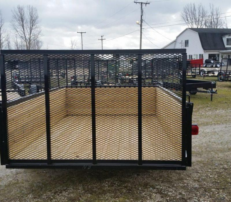 6.5 x 14 A.M.O. High Side Landscape Trailer