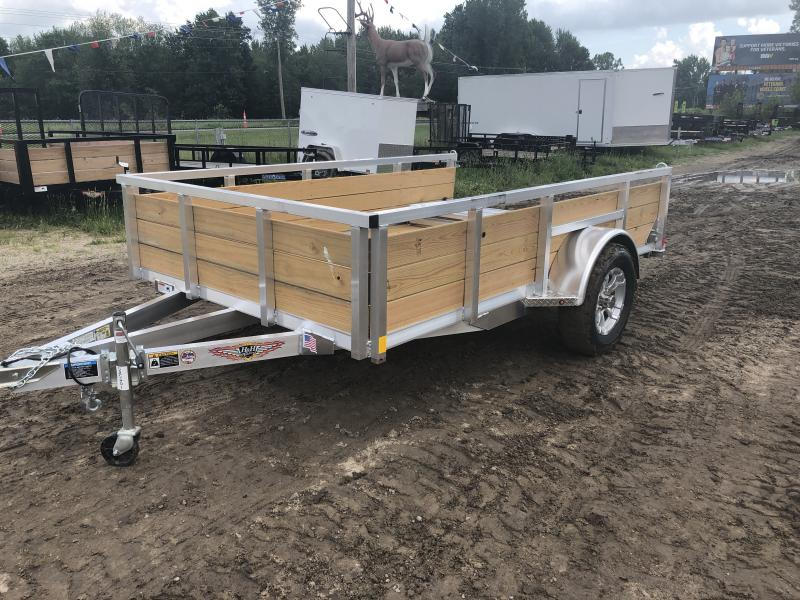 H and H Trailer 76 X 10 Aluminum Woodside